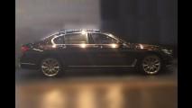 BMW mostra teaser do novo Série 7, que estreia semana que vem