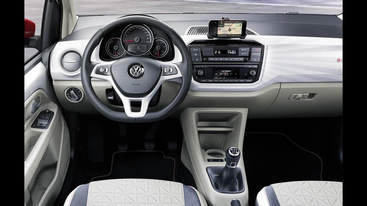 Segredo: VW up! reestilizado chega ao Brasil em fevereiro como linha 2018
