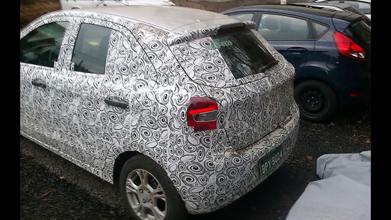 Primeiros flagras do novo Ford Ka no Brasil confirmam projeções