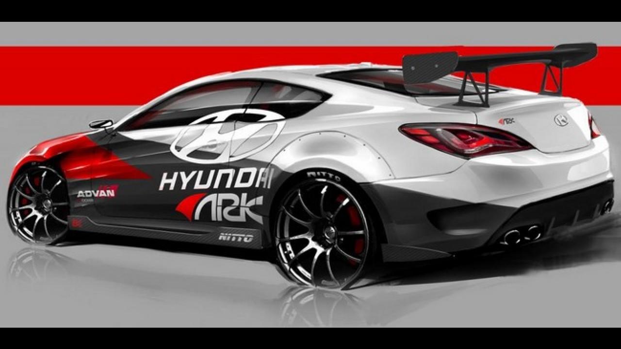 Hyundai Genesis Coupe R-Spec by Ark será mostrado no SEMA