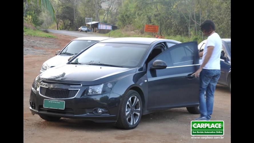 Leitor flagra o Novo Chevrolet Cruze em MG