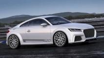 Audi TT Quattro Sport Concept é a bela surpresa da marca em Genebra