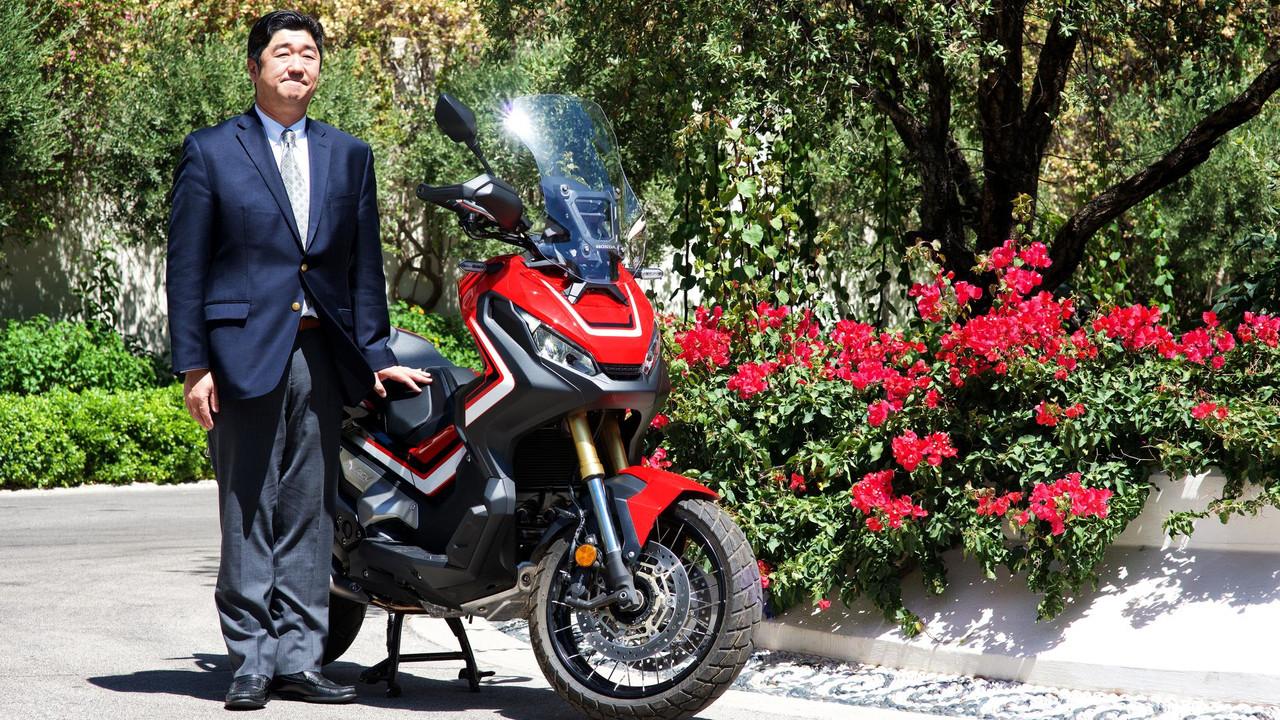 Tsumara San Honda Motosiklet Türkiye Başkanı