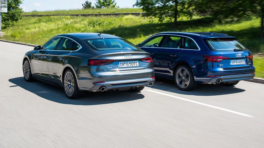 Audi A4 ve A5 CNG ve benzinle çalışan G-Tron motorlara kavuştu