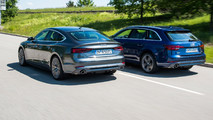 Audi A5 Sportback G-Tron ve Audi A4 Avant G-Tron