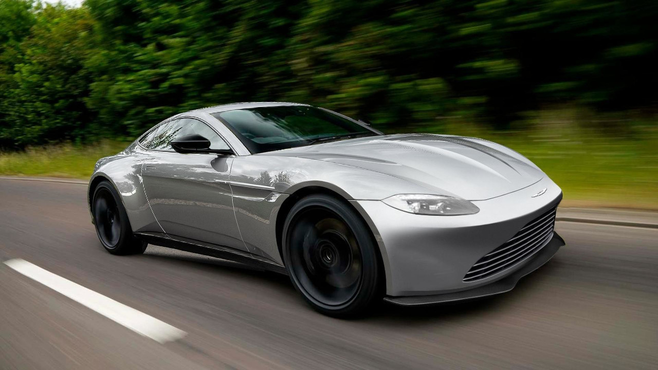 Aston Martin V8 Vantage prototipo