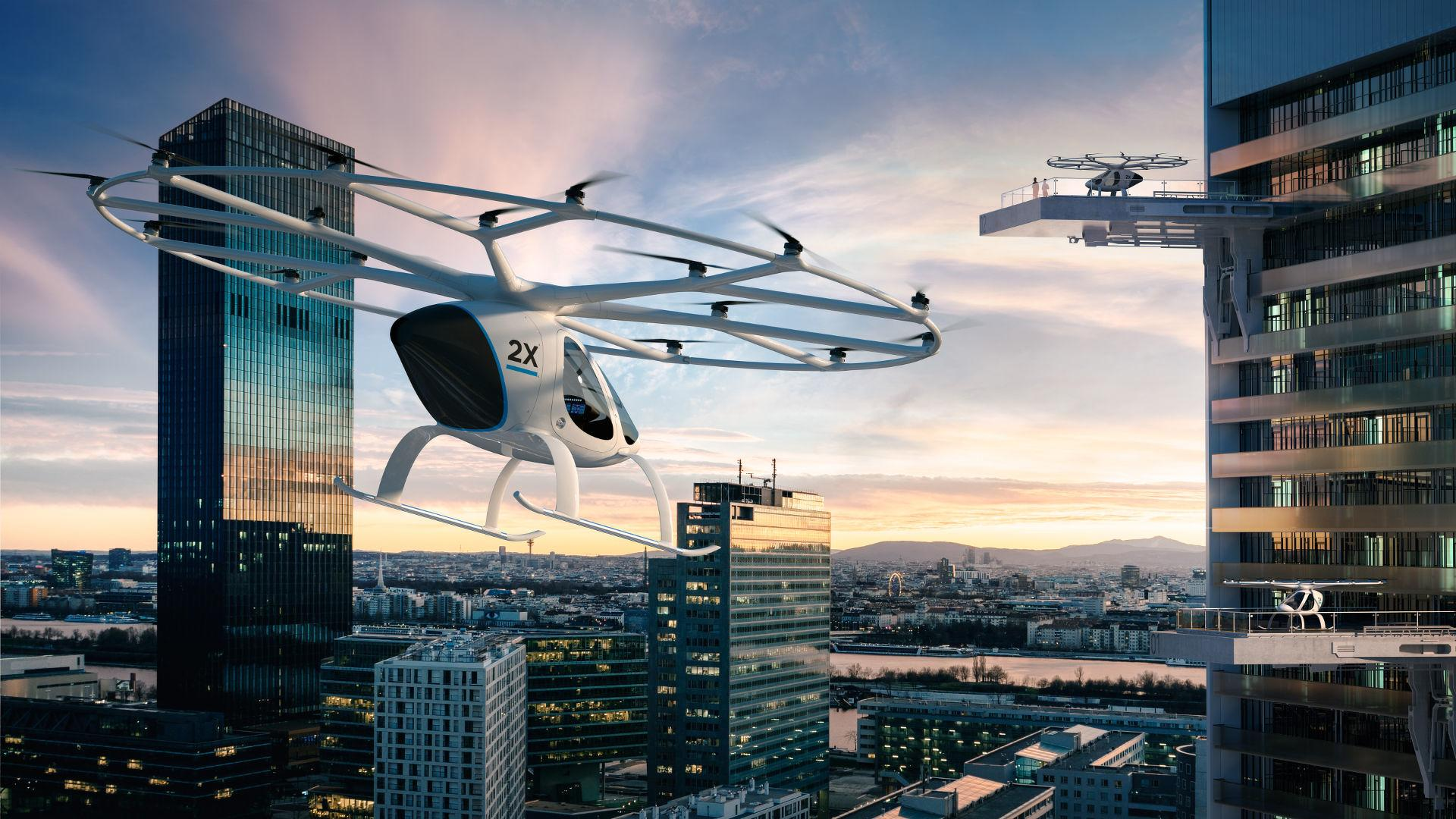 Image result for e-volo FLYING TAXI SERVICE