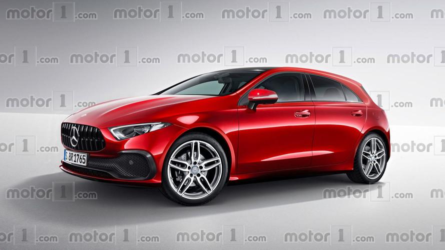 Et si la nouvelle Mercedes Classe A ressemblait à ça ?