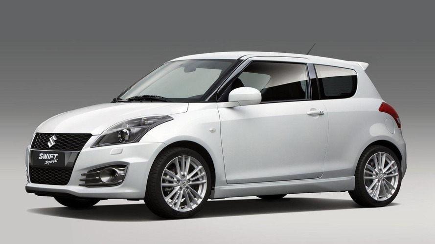 2012 Suzuki Swift Sport previewed ahead of Frankfurt