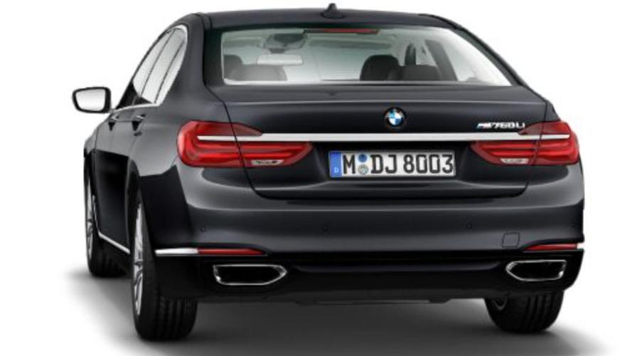 2016 BMW M760Li confirmed by configurator leak