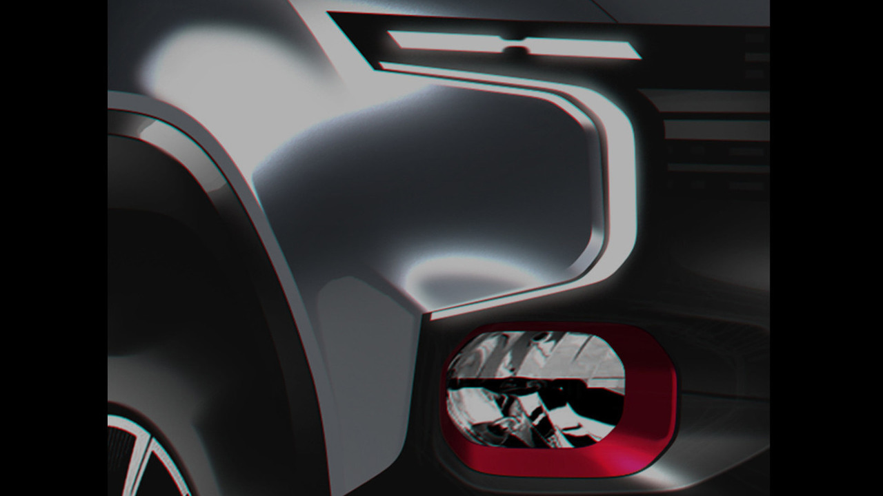 Chevrolet Colorado fuel-cell vehicle teaser image