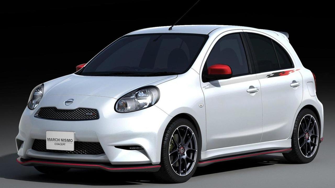 2012 Nissan Micra March Nismo concept 13.01.2012