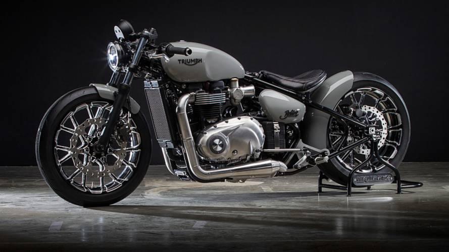 Dunlop desarrolla un neumático especial para la nueva moto de Krugger