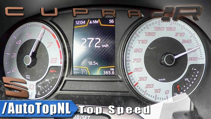See SEAT Leon Cupra R Hit 124 MPH In 17 Sec En Route To 169 MPH