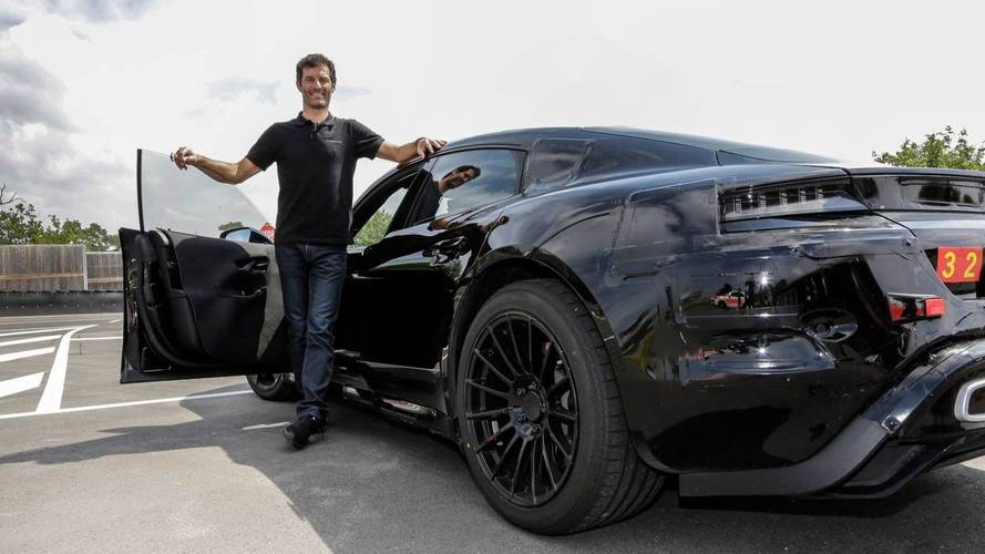 Mark Webber Drives Porsche Mission E