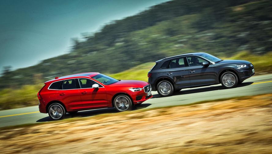 Comparativo Volvo XC60 T5 R-Design x Audi Q5 Ambiente - Alto nível
