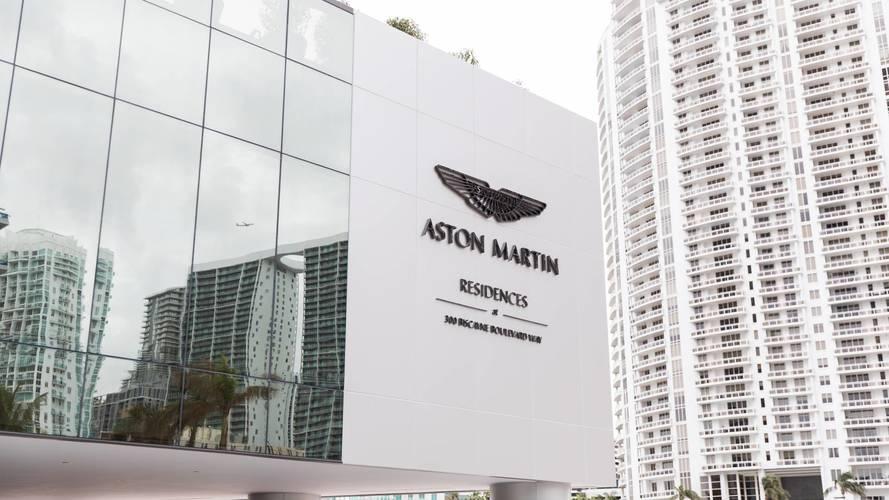 Aston Martin building tower block