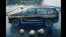 BMW X7 Concept Leaked Photos