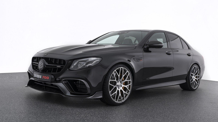 Brabus Mercedes E63 S 700-HP Twin-Turbo V8 Is Ready For Frankfurt