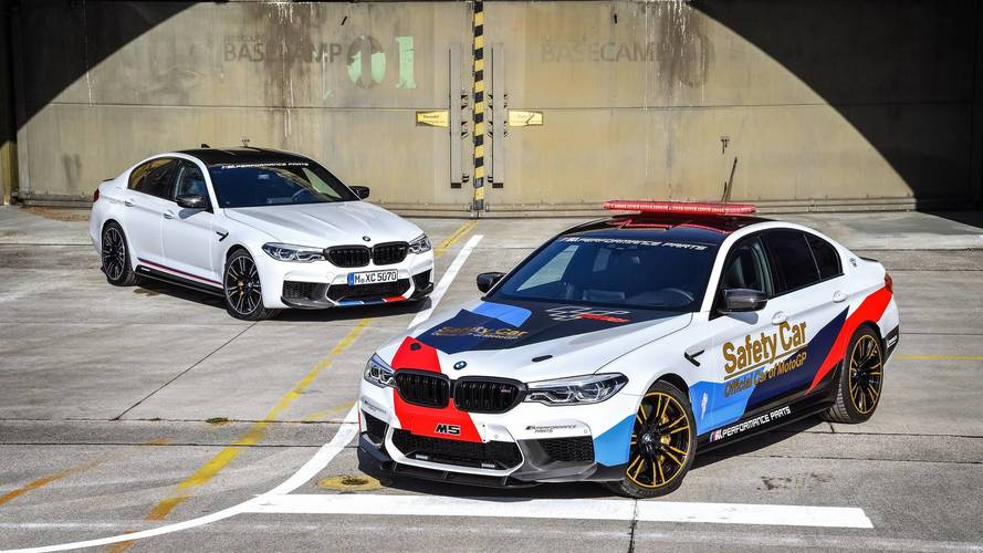 Voici les BMW M5 M Performance et MotoGP Safety Car 2018 !