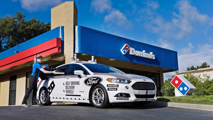 Ford testa Fusion autônomo em entrega de pizzas