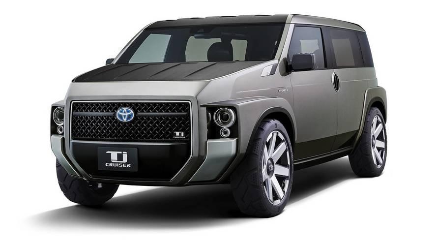 Toyota Tj Cruiser Concept - Mélange des genres