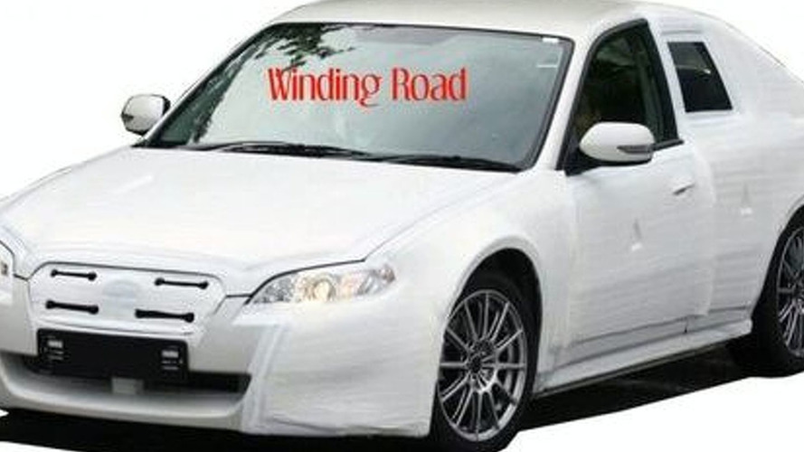 Toyota/Subaru RWD Coupe Spied for First Time