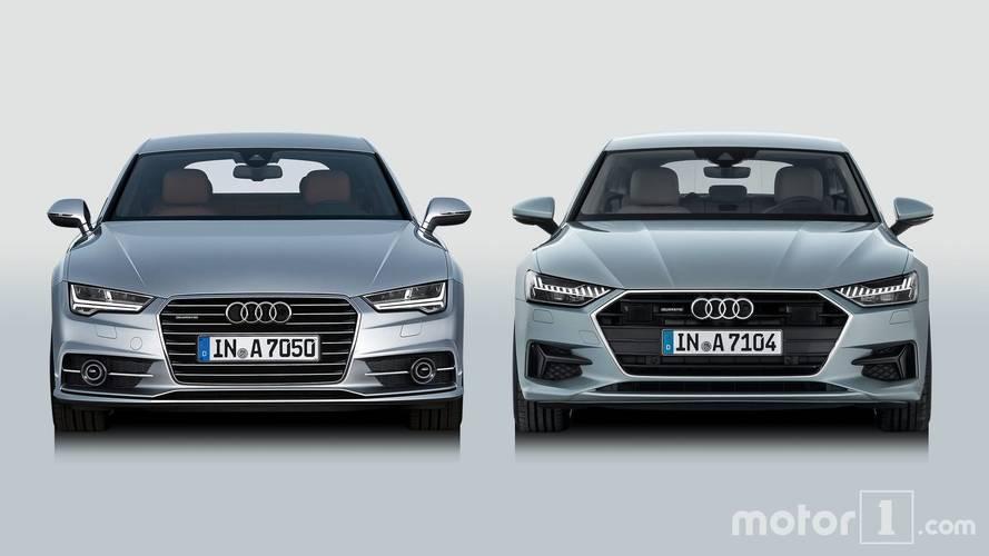 PHOTOS - Quand la nouvelle Audi A7 rencontre son aînée !