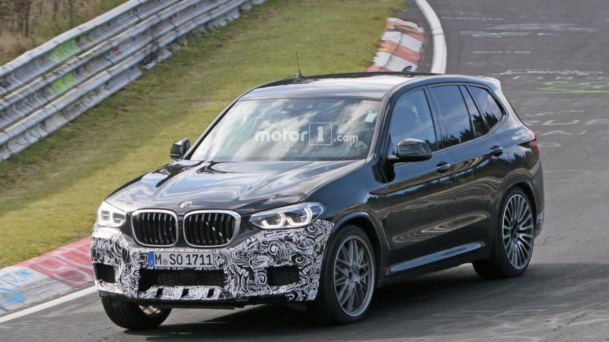 2019 BMW X3 M Nürburgring'de objektiflere takıldı