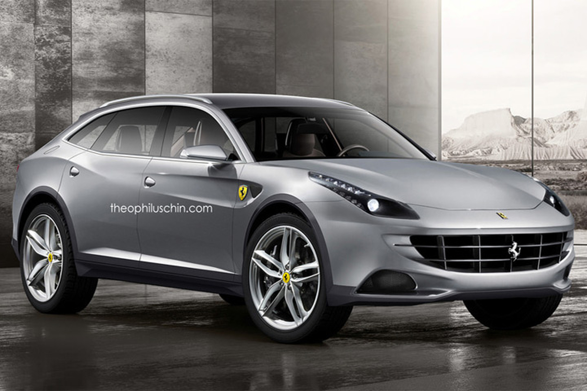 2016 Cadillac Crossover >> Ferrari SUV Production Confirmed, Still Several Years Away