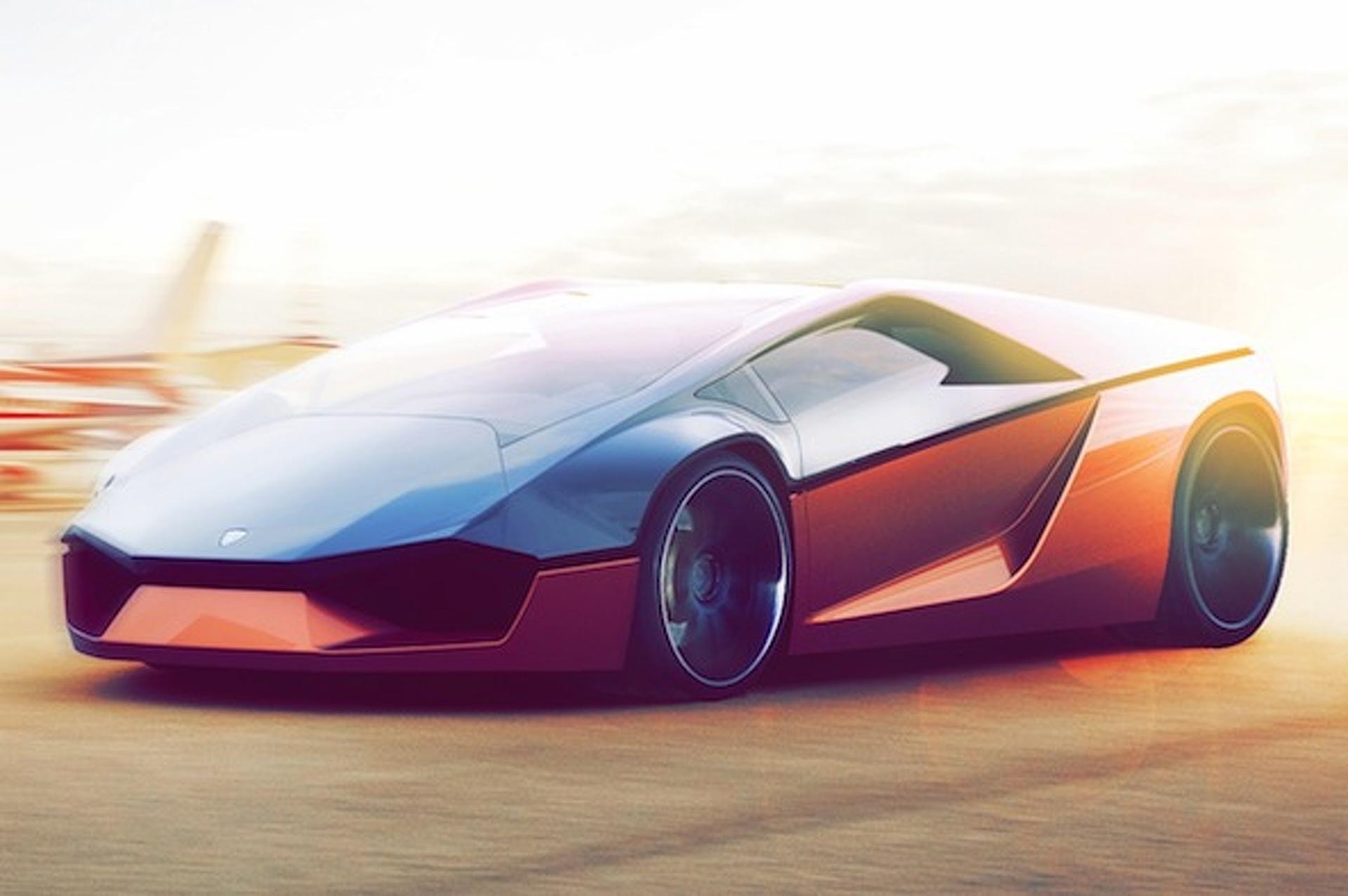 100 Lamborghini Concept Lamborghini Concept Orange