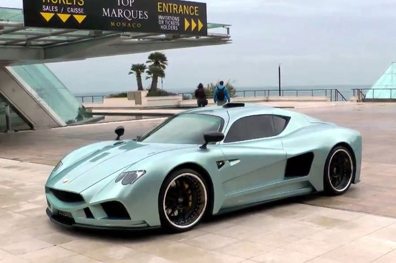 Video: Mazzanti Evantra Bows at Top Marques