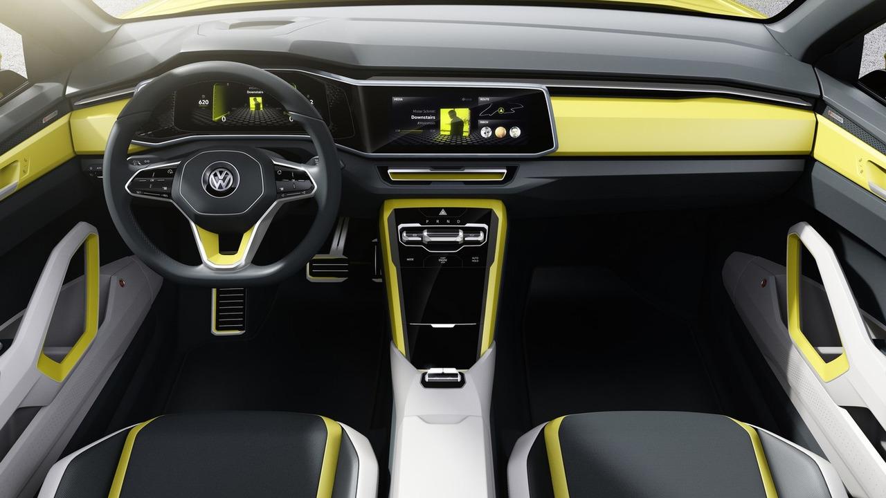 Volkswagen T-Cross Breeze Concept 2016
