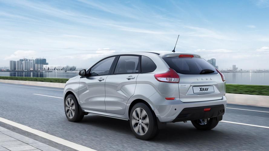 Lada XRAY Exclusive Has Alcantara Seats, Dacia Sat-Nav