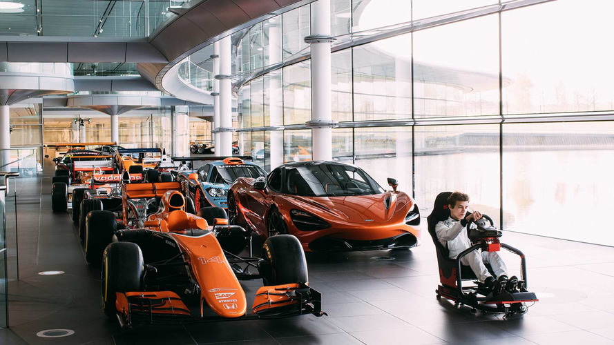 McLaren Launches eSports Contest For F1 Simulator Job