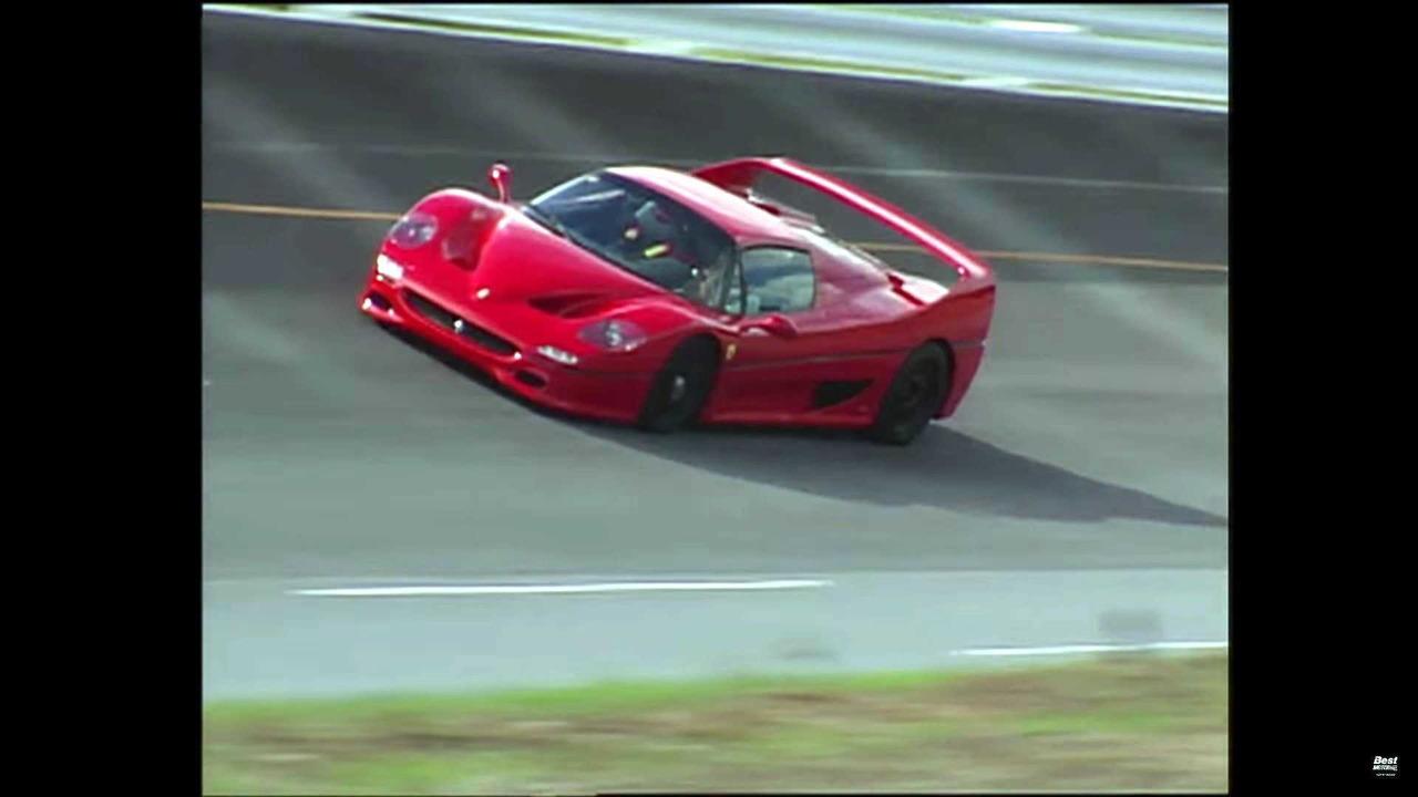 Ferrari F40 F50 Lambo Diablo Battle For Supercar Supremacy