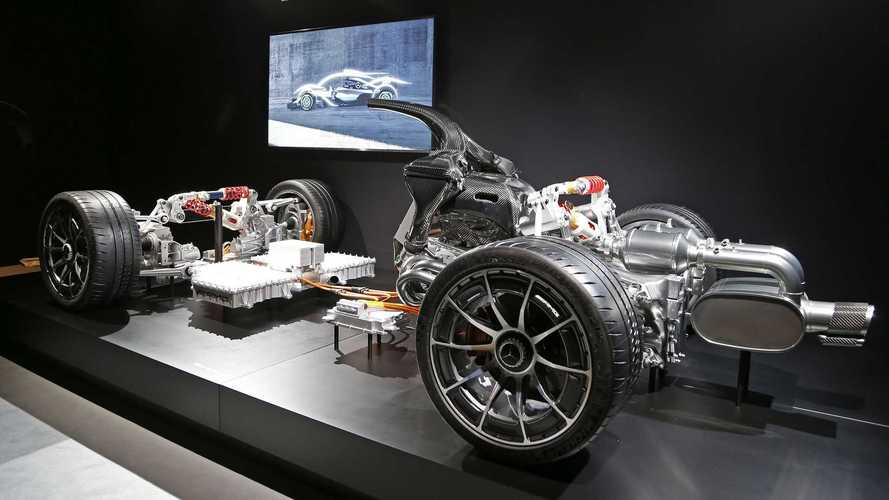 Mercedes-AMG Project One underpinnings