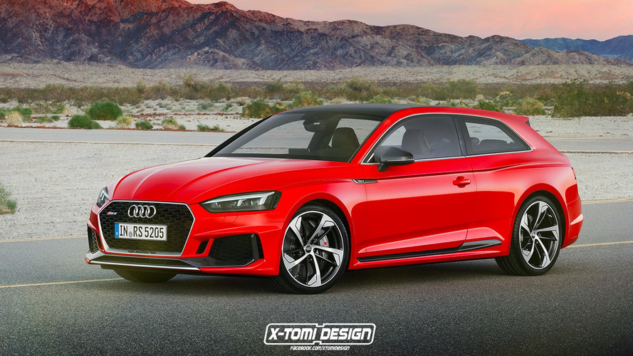 Un designer imagine l'Audi RS5 en break de chasse !
