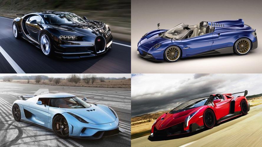 Les 20 voitures les plus chères en 2017