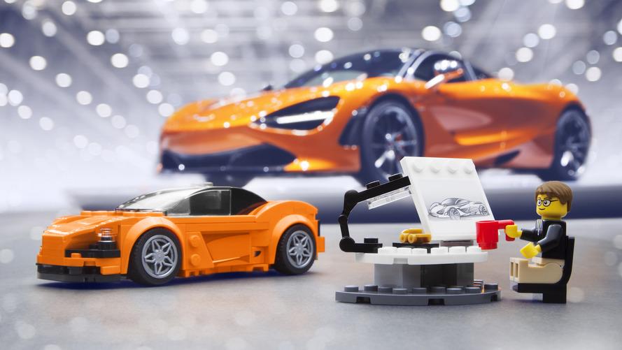 McLaren 720S chegará ao Brasil em forma de Lego
