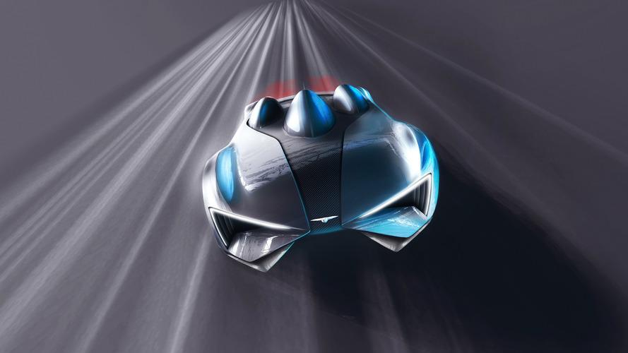 Techrules - Le design de la supercar chinoise à turbine en partie dévoilé