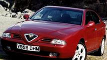 Alfa Romeo 166 (UK-spec)