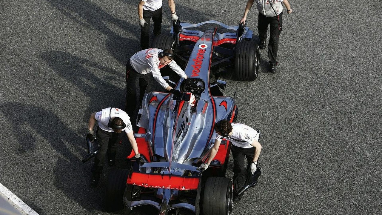 McLaren Chief Ron Dennis