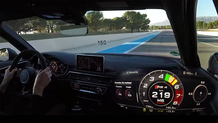 [VİDEO] Audi RS4 Avant'ın inanılmaz performansı