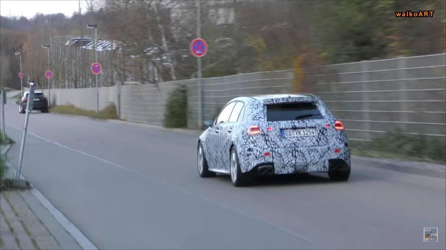 VIDÉO - La future Mercedes-AMG A 45 se promène