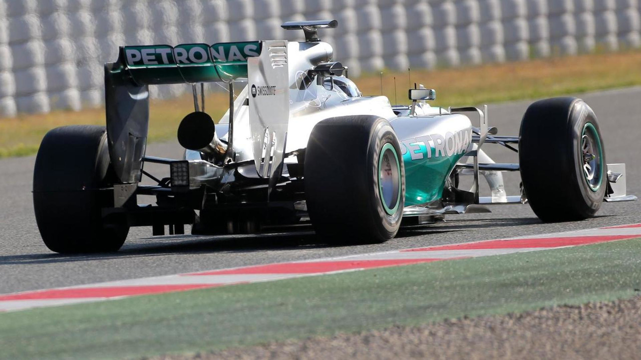 Nico Rosberg (GER), 14.05.2014, Formula One Testing, Barcelona, Spain, Day Two / XPB