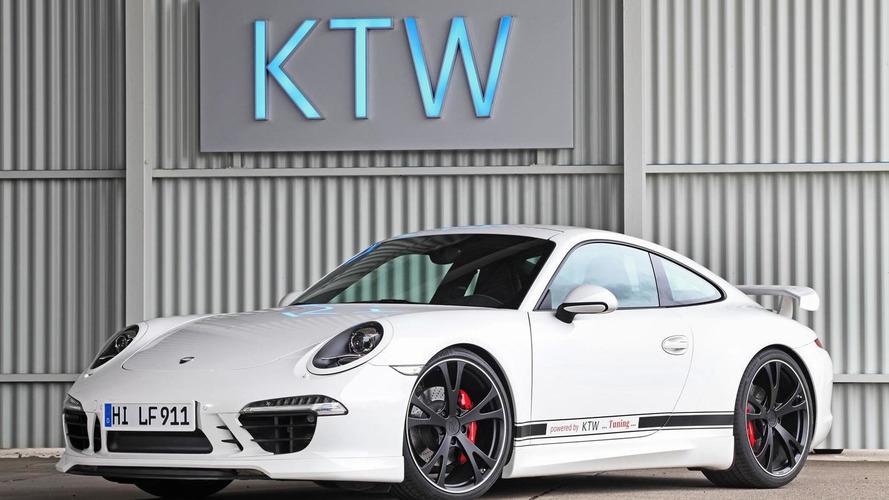 KTW Tuning and TechArt work on a Porsche 911 Carrera S