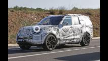 Nuova Land Rover Discovery, foto spia