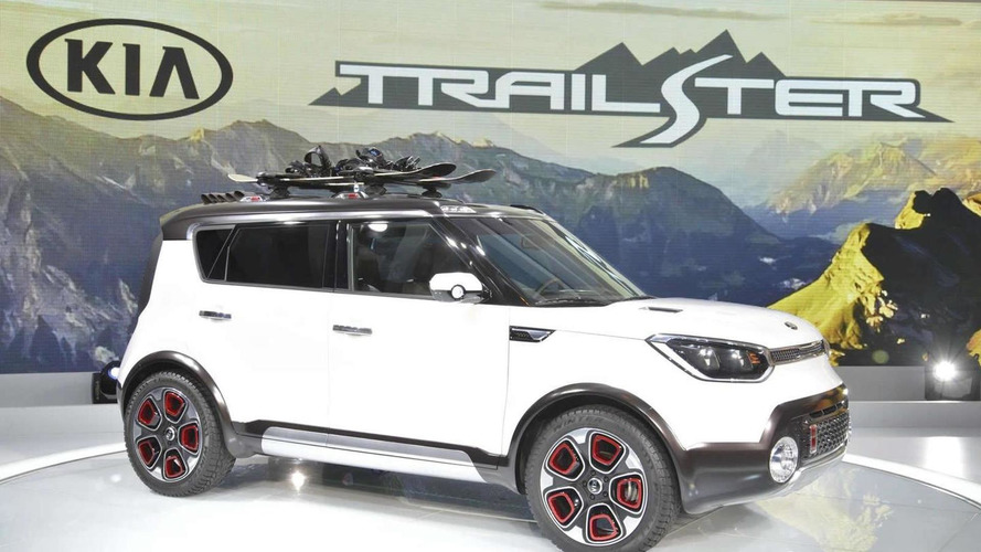kia trail 39 ster concept arrives in chicago as an off road soul with electric all wheel drive. Black Bedroom Furniture Sets. Home Design Ideas