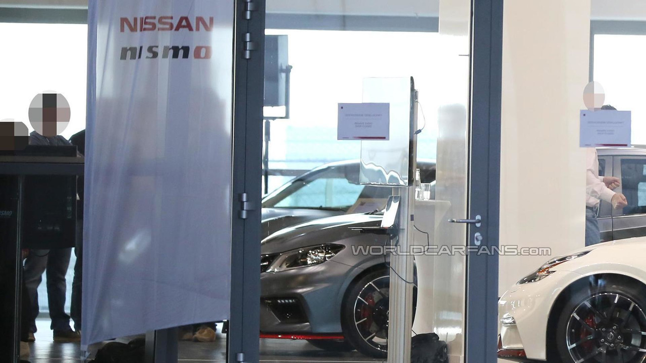 2015 Nissan Pulsar Nismo spy photo
